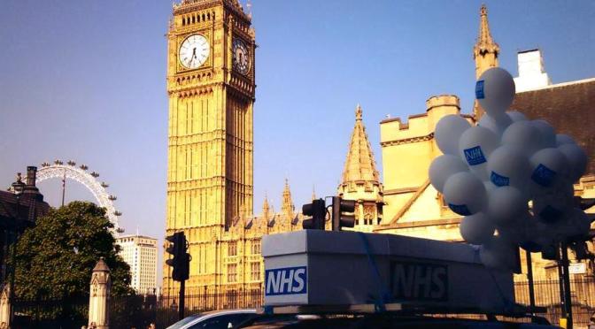 Newspeak and the NHS